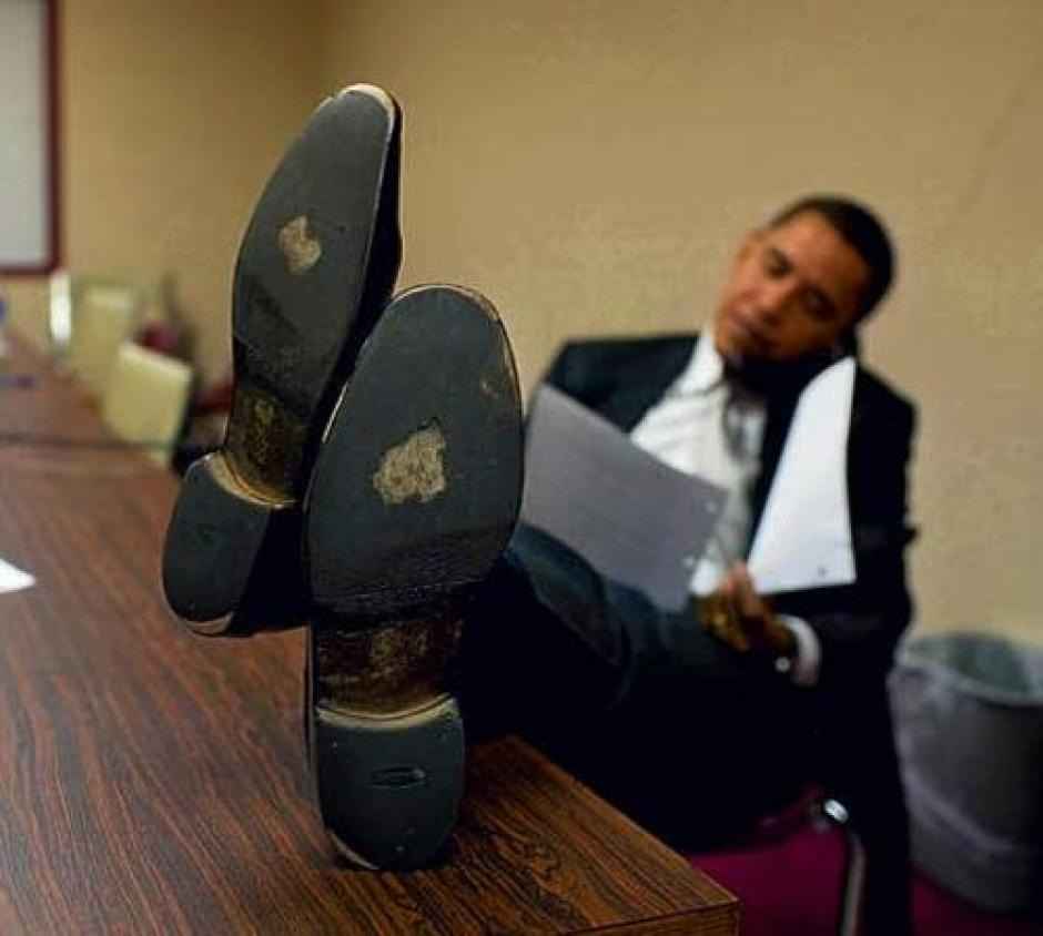 The Audacity Of Tired Feet Barack Obama The Cbc