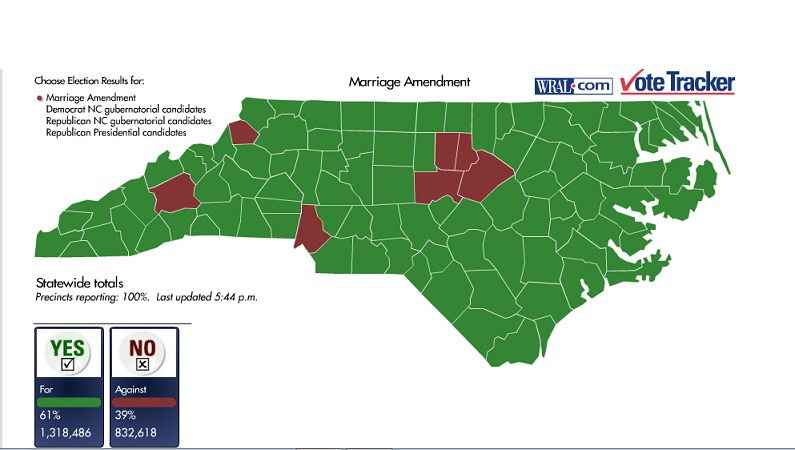"Amendment One: Wasn't North Carolina The ""Good"" Carolina?"