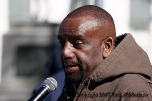 "Doesn't Rev. Jesse Lee Peterson look like a ""thug,"" wearing that hoodie? He better be careful before Sean Hannity shoots his black ass."