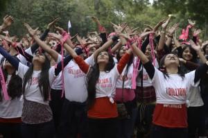 INDIA-POLITICS-WOMEN-PROTEST