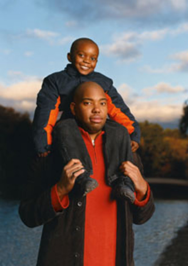 Ta-Nehisi Coates and son