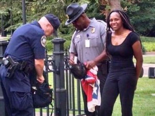 Activist, Bree Newsome, arrested after removing Confederate Flag from grounds of South Carolina's State House.